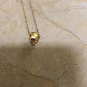 Tom Binns 18k gold necklace